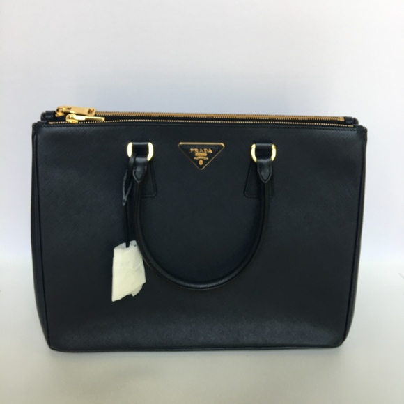 82f0c64c814f Prada Bags | Double Lux Large Saffiano Baltico Leather Tote | Poshmark